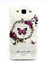 Pour Samsung Galaxy Coque Motif Coque Coque Arrière Coque Papillon PUT pour Samsung J5