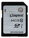 Kingston 64Go carte SD carte mémoire UHS-I U1 Class10