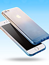 Clear Transitional Fruit Color Silica Gel Thin Transparent Case for iPhone 6 Plus/6s Plus