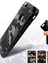 피크 아이폰 용 가죽 위장 실리카겔 PC 콤보 전화 케이스를 보호 6 / 6S (모듬 색상)