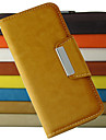 Fashion pattern Wallet Style PU Leather Full Body Case with Stand and Card Slot for iPhone 4/4S (Assorted Colors)