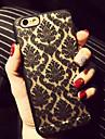 아이폰 6 복고풍 꽃 무늬 투각 구호 인쇄 PC 소재 휴대 전화 케이스 플러스 / 아이폰 6S 플러스