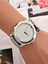 Mulheres Relógio Elegante Relógio de Moda Relógio de Pulso Quartzo Lega Banda Borboleta Prata