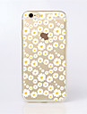 для iphone 7 maycari®sea белых цветов прозрачный Вернуться ТПУ чехол для iphone 6с 6 плюс