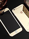 Full Screen Before and After Plating Mirror Glass Film for iPhone 6/6S (Assorted Colors)