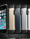 Pour Coque iPhone 5 Antichoc Coque Coque Arrière Coque Armure Flexible Silicone pour iPhone SE/5s/5
