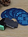 10PCS 네일 아트 + 2 개 네일 아트 스탬프 프린터 (임의의 색) 이미지 템플릿 판을 스탬핑
