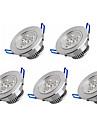 5PCS Recessed led downlight 3W LED Spot light led ceiling lamp AC 100-240V
