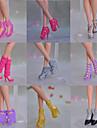 Princesse Chaussures Pour Poupée Barbie Chaussures Pour Fille de Jouets DIY