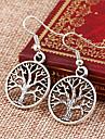 Earring Drop Earrings Jewelry Women Party / Casual Alloy 2pcs Silver