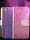 iPhone 7 Plus Luxury Shiny Diamond PU Leather CaseWith Safe Buckle Bling Case For iPhone 5/5S
