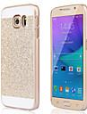 Para Samsung Galaxy Capinhas Antichoque Capinha Capa Traseira Capinha Brilho com Glitter PC SamsungS6 edge plus / S6 edge / S6 / S5 / S4