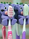 милый мультфильм всасывания держатель зубной щетки чашки крючки ванной экологически чистые бытовые