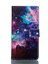 Starry Sky Pattern Card Stand Leather Case for Samsung Galaxy S5/S5 Mini/S6 edge/S6