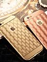 다시 아이폰 기가 6 플러스에 대한 금속 프레임 전화 케이스와 다이아몬드 도금 미러