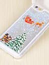 용 아이폰5케이스 플로잉 리퀴드 / 패턴 케이스 뒷면 커버 케이스 크리스마스 하드 PC iPhone SE/5s/5