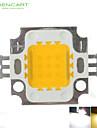 10w 900lm белый / теплый белый 3000k / 6000k высокий яркий светодиодный свет лампы постоянного тока чип 9-12V