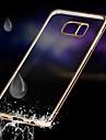 Para Samsung Galaxy Note Ultra-Fina Capinha Capa Traseira Capinha Cor Única TPU Samsung Note 5 / Note 4 / Note 3