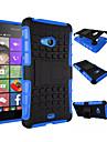 Pour Coque Nokia Antichoc Avec Support Coque Coque Arrière Coque Armure Dur Polycarbonate pour NokiaNokia Lumia 950 Nokia Lumia 830 Nokia