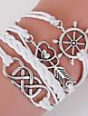 White Rudder & An Arrow Through the Heart Multilayer Weave Bracelet inspirational bracelets