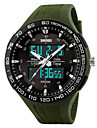 Skmei® Men's Dual Time Zone Outdoor Sports Multifunction Wrist Watch 50m Waterproof Assorted Colors Cool Watch Unique Watch Fashion Watch