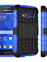 용 삼성 갤럭시 케이스 충격방지 / 스탠드 케이스 뒷면 커버 케이스 갑옷 PC Samsung Young 2 / Grand Prime / Core Prime / Ace 4