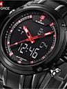 NAVIFORCE® Luxury Brand Fashion Men's Watches Strip Waterproof Quartz Watch Montre Men Military watch Sports Wrist Watch Cool Watch Unique Watch
