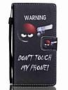 На все тело бумажник / Визитница / с подставкой Слово / Фраза Искусственная кожа жесткий Для крышки случая Huawei Huawei P8 Lite