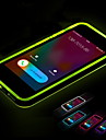 Lncoming Call LED Blink Transparent TPU Back Cover Case For iPhone 5/5S (Assorted color)