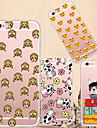 Pour Coque iPhone 5 Transparente Motif Coque Coque Arrière Coque Dessin Animé Flexible PUT pour iPhone 7 Plus iPhone 7 iPhone SE/5s/5