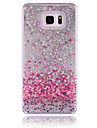 For Samsung Galaxy Note Flowing Liquid Case Back Cover Case Heart PC Samsung Note 5 / Note 4 / Note 3
