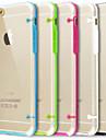 ultra transparent cas de couverture pour iPhone 6 plus (couleurs assorties)