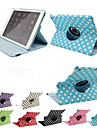 Luxury Print Polka Dot 360 Rotation PU Leather case for Apple iPad Air 2 Tablet Smart Cover Flip Cases With Stand