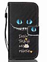 Para Samsung Galaxy Capinhas Porta-Cartão / Carteira / Com Suporte / Flip Capinha Corpo Inteiro Capinha Desenho Couro PU SamsungS6 edge