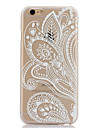 Doopootoo™ White Floral Paisley Flower Mandala Painted Pattern Slim Plastic Back Hard Case Cover For iPhone 6 4.7""