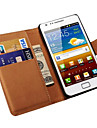 Leather Wallet Case for Samsung Galaxy S2 i9100