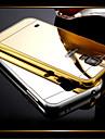 Para Samsung Galaxy Capinhas Cromado / Espelho Capinha Capa Traseira Capinha Cor Única PC Samsung S5