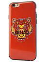 caixa clara selva cor rei humor suave TPU telefone para iphone 6 / 6s (cores sortidas)