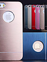 DF® Luxury Solid Color Brushed Aluminium Case for iPhone 5/5S