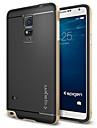 Pour Samsung Galaxy Note Antichoc Coque Coque Arrière Coque Armure PUT pour Samsung Note 4