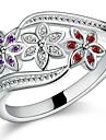 Anéis Casamento / Pesta / Diário Jóias Prata de Lei Feminino / Masculino / Casal Anéis de Casal 1pç,7 / 8 / 9 Prateado