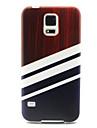 For Samsung Galaxy Case Pattern Case Back Cover Case Lines / Waves TPU Samsung S6 edge / S6 / S5 Mini / S5 / S4 Mini / S4 / S3 Mini / S3