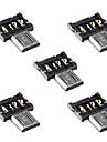 cy® 마이크로의 USB OTG 커넥터 (5PCS)