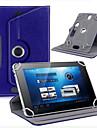"""태블릿 360도 회전 가죽 케이스 커버 가죽 케이스는 보편적 인 안드로이드 태블릿 7 """"인치 3 베르나 스탠드"""