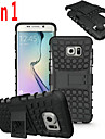 Hybrid TPU Hard Shockproof 2 In 1 With Stand Function Cover For Samsung Galaxy S4/S5/S6/S6 Edge/S6 Edge +/S7/S7 Edge