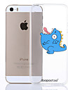 dpt® Dinosaur Pattern TPU Soft Back Cover for iPhone 5/5S