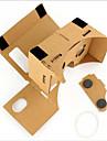 картон вр виртуальной реальности очки штормовой зеркало DIY Kit