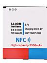 3.7V 3300mAh Li-ion Battery with NFC for Samsung S4 i9500