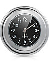 "Motorcycle Bike 7/8""1 Handlebar Mount Black Dial Clock Watch For Harley Yamaha"