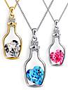 Ожерелье Ожерелья-цепочки Бижутерия Повседневные Мода Сплав Серебряный 1шт Подарок